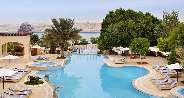Jordan Valley Marriott Resort & SPA, Totes Meer